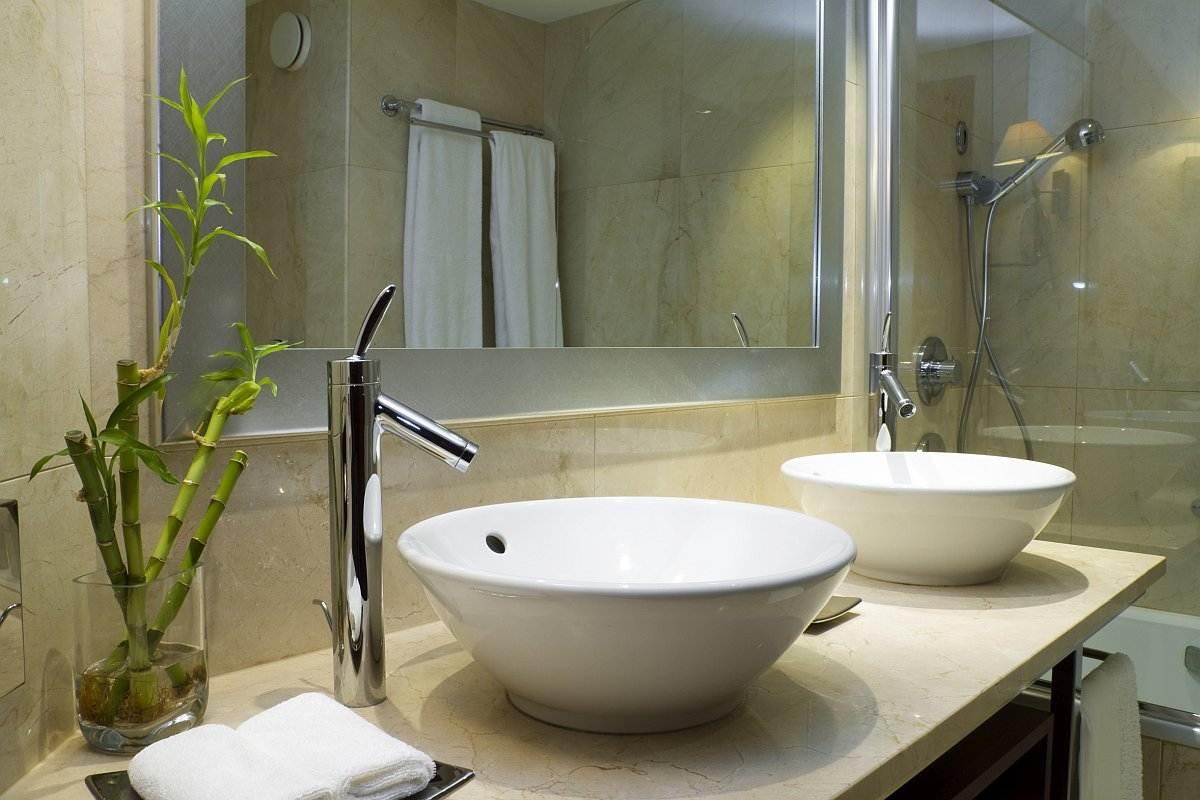 Blaty łazienkowe zielone